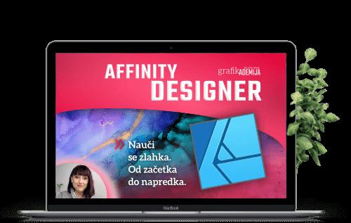 Affinity Designer − tečaj Grafikademije
